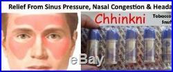 1000xChhinkni Herbal Snuff For Cold & Headache 2gm Free Shipping