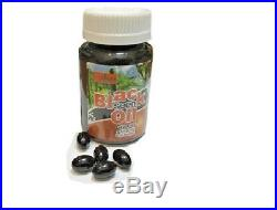 100% Virgin Cold Pressed 100 Black Seed Oil Capsules 100% Halal Health Benefits