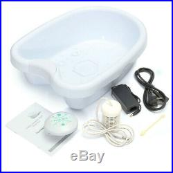 110-220V Ionic Ion Detox Foot Bath Cell Cleanse SPA Machine Set with Tub 1 Arroy