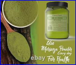 1lb Moringa Oleifera Leaf Powder 100% Pure Natural Superfood Gluten Free