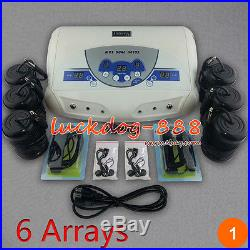 2017 Dual MP3 Ionic Detox Cell Foot Bath Spa Cleanse Machine 6 Arrays ON SALE