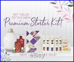 2019 NEW YOUNG LIVING PREMIUM STARTER KIT with 12 essencial oils and accessories