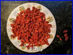 22 lbs Goji Berries Bulk Wholesale RAW Organic Premium Large Dried Wolfberry