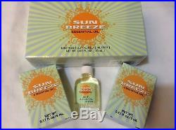 36 Bottles Sunrider SunBreeze Essential Oil Muscle Ache Menthol Herb Botanical