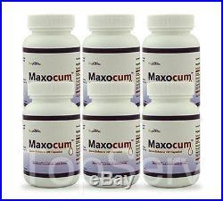6 MaxoCum VOLUME PILLS MALE INCREASE SPERM SEMEN FERTILITY 500% PILLS TOP EFFECT