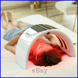 7 Color Photon LED Light Therapy PDT Skin Facial Machine Photodynamics