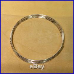 9999 Pure Silver Wire 12 Gauge 6 feet (72) Guaranteed 99.99%+