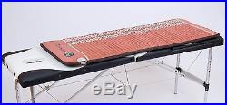 Amethyst Tourmaline Gemstone Heated Pad 60x24 Mat with PEMF Far Infrared Ions