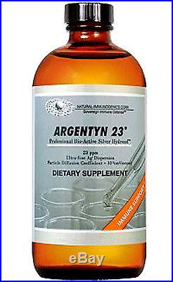Argentyn 23 32 oz 946 ml Natural Immunogenics Colloidal Silver Hydrosol