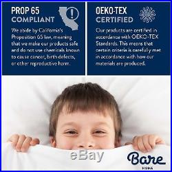 Bare Home Weighted Sensory Therapy Blanket or Blanket withCover Set