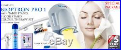 Bioptron Pro 1-The Complete Set-Oxy Sterile Spray & Lumia Science 36 page manual