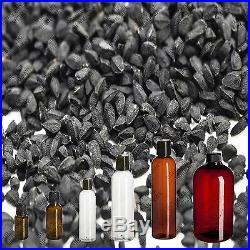 Black Cumin Seed Oil Nigella Sativa 100% Pure Virgin Cold Pressed, Organic