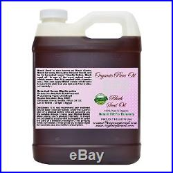 Black Seed Oil Aka Egypt Black Cumin Seed 100% Pure Organic Unrefined Cold Pres