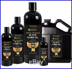 Black Seed Oil Black Cumin Seed Oil USDA Organic Nigella Sativa 100% Pure