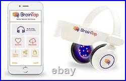 BrainTap Pro Headset (FREE 45-DAY APP DOWNLOAD)(FREE SHIPPING)(BLUETOOTH)