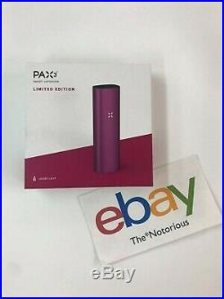 Brand New Pax 3 Basic Kit Fuchsia (Pink) Color 100% Authentic Free Shipping