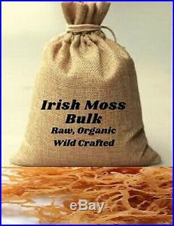 Bulk Whole Leaf Irish Moss Sea Moss 10 lb Raw WildCrafted Superfood-10 lb