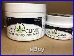 CBD Clinic Level 5 Pro Sport Pain Relief 200g / 7.05 oz Treatment Tubs