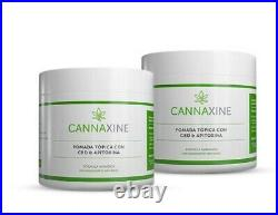 Cannaxine (2 Creams and 1 Roll-on) with Trolamine Salicylate 10%