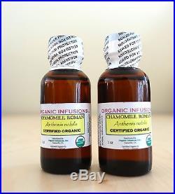 Chamomile Roman 100% Pure Essential Oil USDA Organic Certified Therapeutic Grade