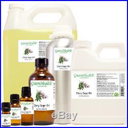 Clary Sage Essential Oil 100% Pure 5ml to 32ozFreeShip