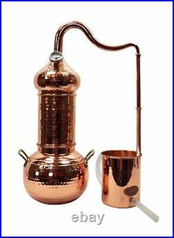 CopperGarden Destille Essence 2 Liter Kolonnenbrennerei ätherische Öle