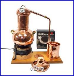 CopperGarden Destillieranlage Arabia 2 Liter elektrisch legale Destille