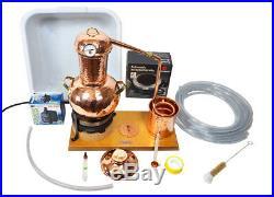 CopperGarden Tischdestille Arabia 2 Liter Sorgenfrei Paket mit allem Zubehör