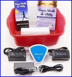 DETOX FOOT SPA BATH New Model Ionic Cleanse Detox Foot Bath. 1 YEAR WARRANY