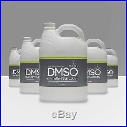 DMSO Dimethyl Sulfoxide 99.995% Low Odor Pharma Grade 5 Gallon Special BPA Free