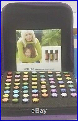 DOTERRA Essential Oils 60 OIL KIT (2 ML Size) Free Gift With Purchase