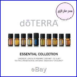 DoTERRA 10x5ml Family Essential Kit Therapeutic Grade Essential Oil Aromatherapy