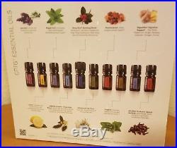 DoTERRA Family Essentials Physician Kit 10 x 5ml Oils Frankincense Lavender +++