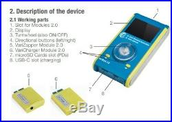 Dr. Hulda Clark Zapper / VariZapper 2.0 with accesories Kill Parasites device