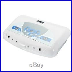 Dual User Detox Ionic Foot Bath Ion Spa Machine Cell Cleanse MP3 Arrays new