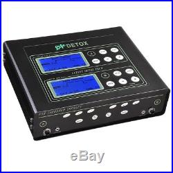 Dual User Foot Bath Machine Ionic Detox Foot Spa Cell Cleanse Machine LCD Tool