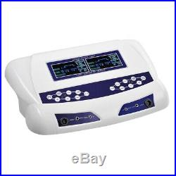 Dual User Foot Bath Spa Machine Colored LCD Ionic Detox Cell Cleanse Machine