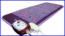 Ereada Amethyst Mat InfraRed Heating Pad FIR PEMF ION PHOTON Purple 24x59