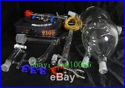 Essential oil steam distillation apparatus kit, 110V, Allihn Condenser US PLUG