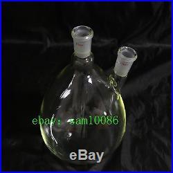 Essential oil steam distillation apparatus kit, 220V, Liebig Condenser, lab glass