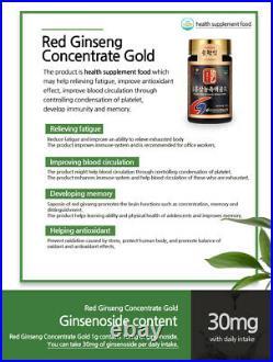 Express Pocheon Korean Red Ginseng Extract Gold 240g Ginsenoside 10mg/g