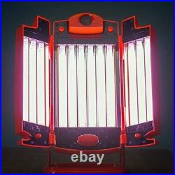 FACIAL TANNING Lamp RUBINO 12 Lamps with collagen red light and infra red