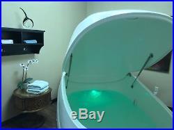 Floatation tank, float pod, sensory deprivation, isolation tank, flotation