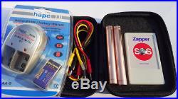 Frequenz nach Dr. Hulda Clark zapper SOS mit patentierten Elektroden SILVER 935