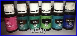HUGE Young Living Essential Oils Lot 30 pcs Oils BARELY USED! MSRP $780