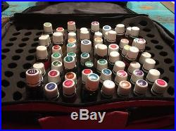 HUGE Young Living Essential Oils Lot 64 Oils With Case BELOW WHOLESALE FREE SHIP