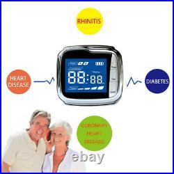 Health Care Wrist Watch Control Blood Pressure Blood Glucose Laser Medical Watch