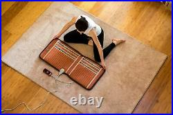 HealthyLine Amethyst Heated Seat Healing Mat Far Negative Ions Pad with PEMF