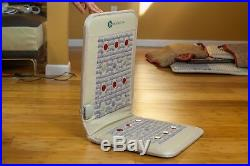 HealthyLine Amethyst Heated Seat Healing Mat Far Negative Ions with PEMF