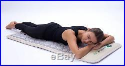 HealthyLine Amethyst Tourmaline Jade Heated Pad 60x24 TAJ Mat with PEMF Photon